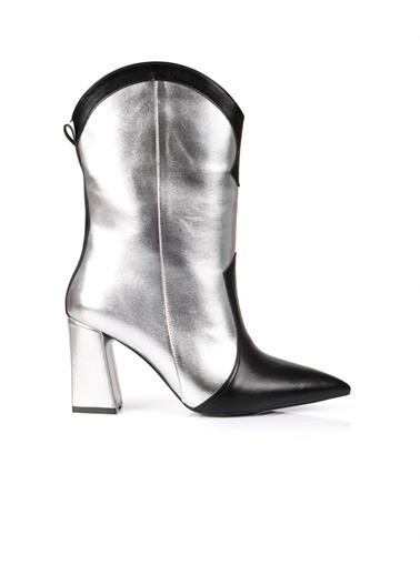 Oblavion Çizme Gümüş